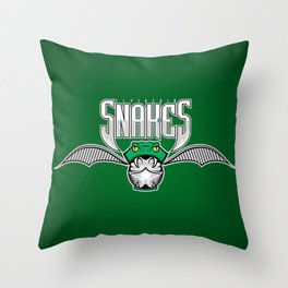 Snakes Slytherin Throw Pillow