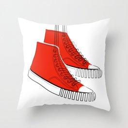 Favourite Shoes Throw Pillow