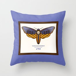 Death's Head Hawkmoth Throw Pillow