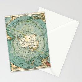 See Atlas 1906 - German Sea Atlas - Antarctica, Cape Town, Magellan Strait, Hobart, Port Elizabeth Stationery Cards
