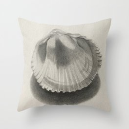Cockle Shell Throw Pillow