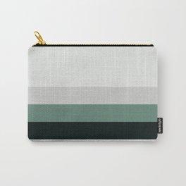 aqua || gray horizon Carry-All Pouch