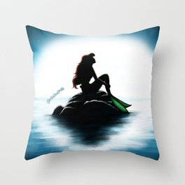 Ariel Sighting Throw Pillow