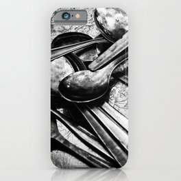 Spooning iPhone Case