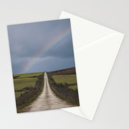 Path under the rainbow Stationery Cards