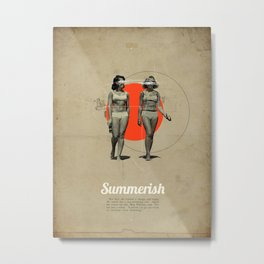 Summerish Metal Print