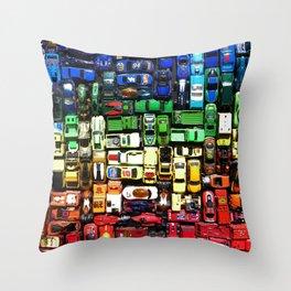 gridlock spectrum  Throw Pillow