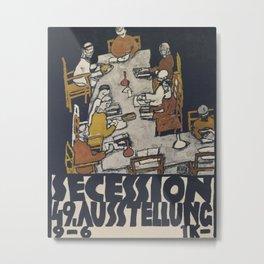 Egon Schiele - Secession 49. Exhibition Metal Print