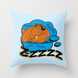 ZZZ Throw Pillow