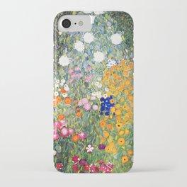 The Garden by Gustav Klimt iPhone Case