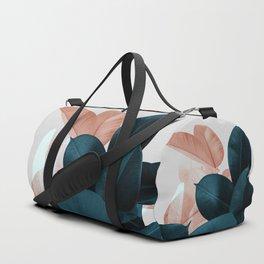 Blush & Blue Leaves Sporttaschen