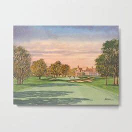 Winged Foot West Golf Course NY Metal Print