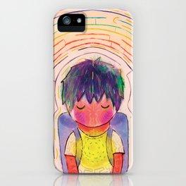 Mazes iPhone Case