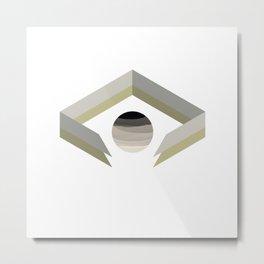 ECLIPSED Metal Print