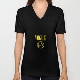 Grunge Fashion Unisex V-Neck