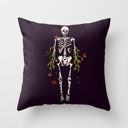 Dead is dead Throw Pillow