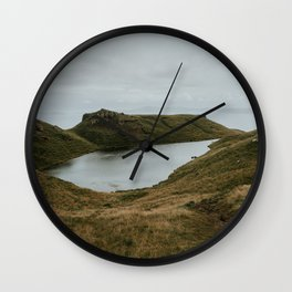 Skye Lake - Landscape Photography Wall Clock