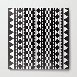 Geometric Pattern 177 (edie sedgwick) Metal Print