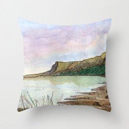 Glenn Carr County Sligo Throw Pillow