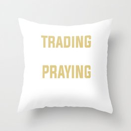 Trading shares wallet economic Gift Throw Pillow