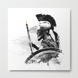 Oboe Warrior Metal Print
