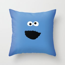 SESAME STREET cookie monster Throw Pillow