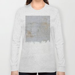Painting on Raw Concrete Long Sleeve T-shirt