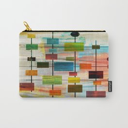 Mid-Century Modern Art 1.3 -  Graffiti Style Carry-All Pouch