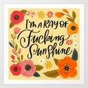Pretty Swe*ry: I'm a Ray of Fucking Sunshine by cynthiaf