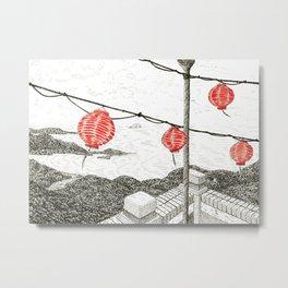 Chinese lanterns #2 Metal Print