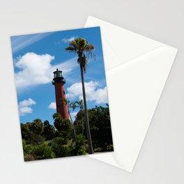 Jupiter Lighthouse Color Tropical / Coastal Landscape Photograph Stationery Cards