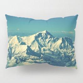 Mount Everest and surrounding mountain range Pillow Sham