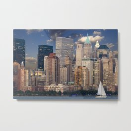 New York 17 Metal Print