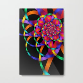 pattern and color -52- Metal Print
