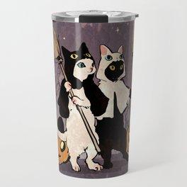 halloween cats Travel Mug