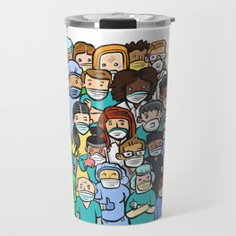 This one's for the health care workers. Travel Mug