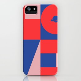 Love Space iPhone Case