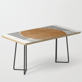 Abstract Modern Poster Coffee Table