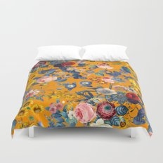 Summer Botanical Garden IX Duvet Cover