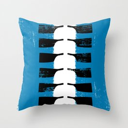 Rowing Boat 1 Throw Pillow