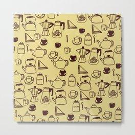 Coffee or Tea Metal Print