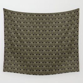 Art Deco Gold 001 Wall Tapestry