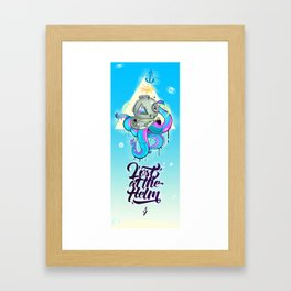 Lost at the Helm Framed Art Print