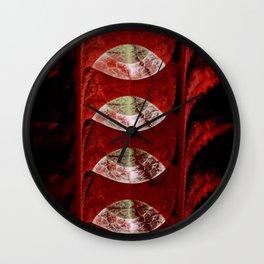Eyes of Lamentation Wall Clock