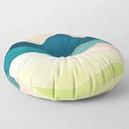 Spring Vista Floor Pillow