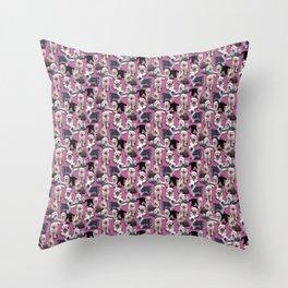 The Old English Sheepdog Pink Throw Pillow