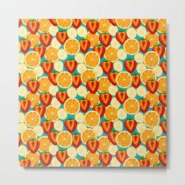 Fruit explosion by Keyton Design Metal Print