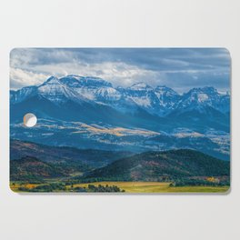 Outside of Ridgway Cutting Board