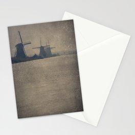 Kinderdijk Windmills II Stationery Cards