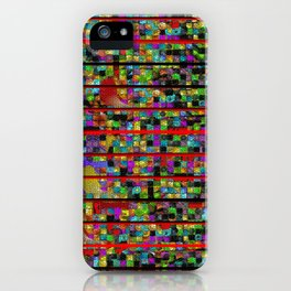 """Madrone Candea - Abstract 0002  """"Lava Flow At Cathedral"""" iPhone Case"""